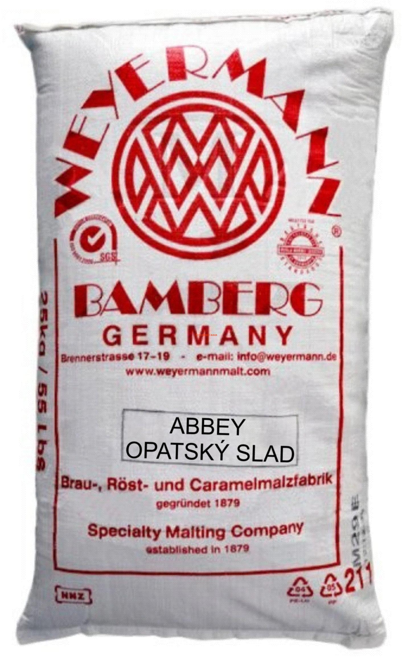 Slad ABBEY MALT® Weyermann® 25Kg