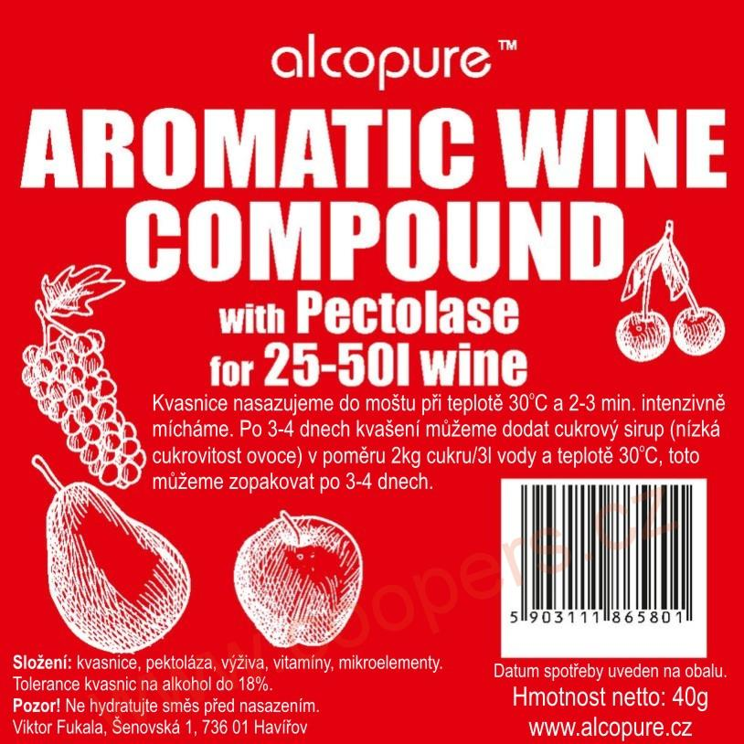 AROMATIC WINE COMPOUND ALCOPURE