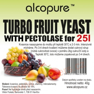 ALCOPURE TURBO FRUIT
